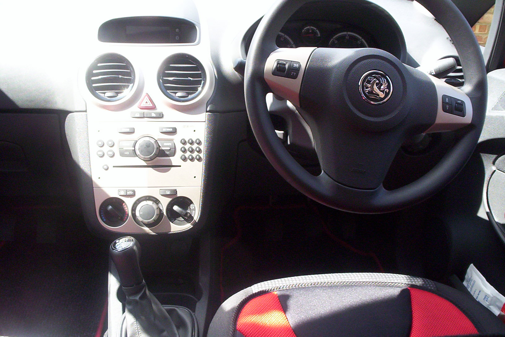 Camberley Driving School car interior